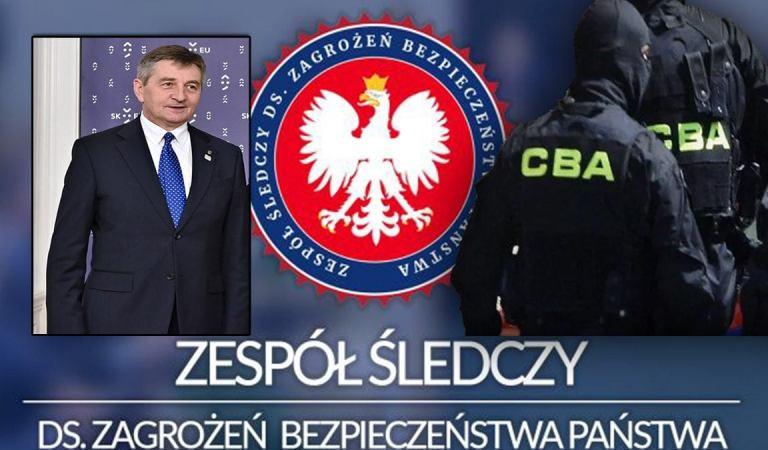 Służby specjalne bez cenzury. Materiały Kuchcińskiego z 14-latką istnieją. Próba uciszenia byłego agenta.