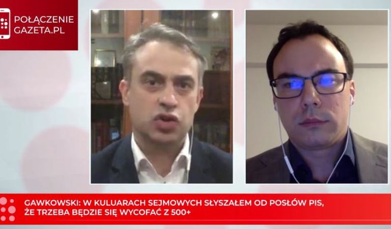 """Posłowie PiS mówili o wycofaniu 500+. """"Reszta działań w PiS to tylko ściema"""" -Krzysztof Gawkowski"""