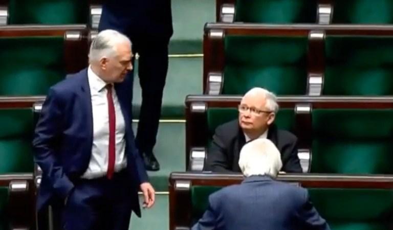 Na Nowogrodzkiej ważą się losy koalicji rządowej. Gowin u Kaczyńskiego.