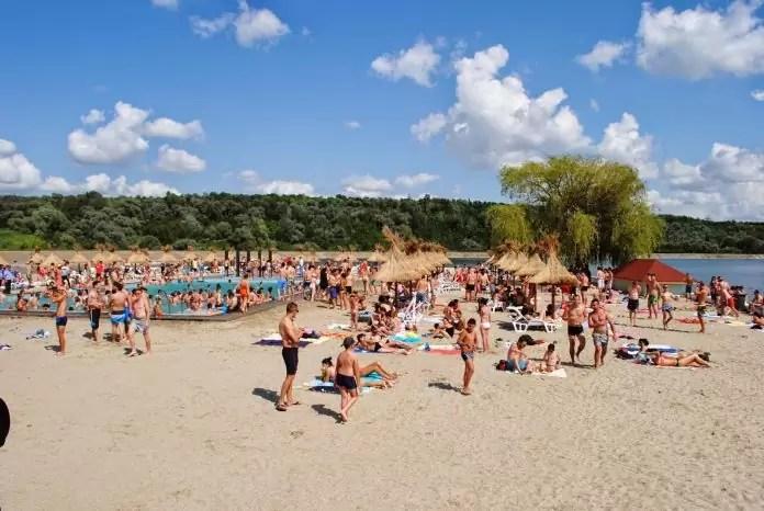 piscina de la plaja olt