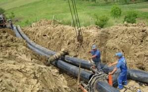 Sistem de canalizare la Văleni