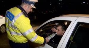 Slătinean prins de polițiști fără permis și băut, la volan