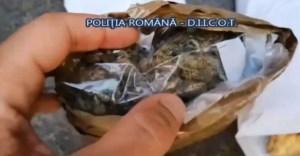 Traficant de droguri prins în flagrant VIDEO