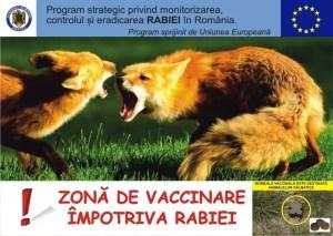 Campanie de vaccinare antirabică a vulpilor