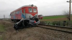 Accident feroviar la Corbu