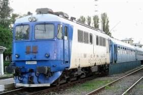 Circulația feroviară întreruptă în Olt
