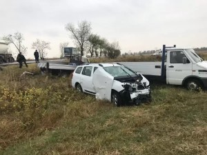 Accident rutier soldat cu victime