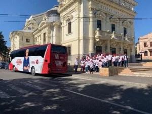 """Caravana """"Pactul Național pentru Bunăstarea Românilor"""", la Slatina și Caracal"""