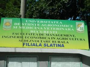 Dublă sărbătoare pentru Facultatea de Management, Filiala Slatina