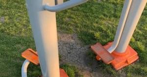 Vandalism în Parcul Tineretului