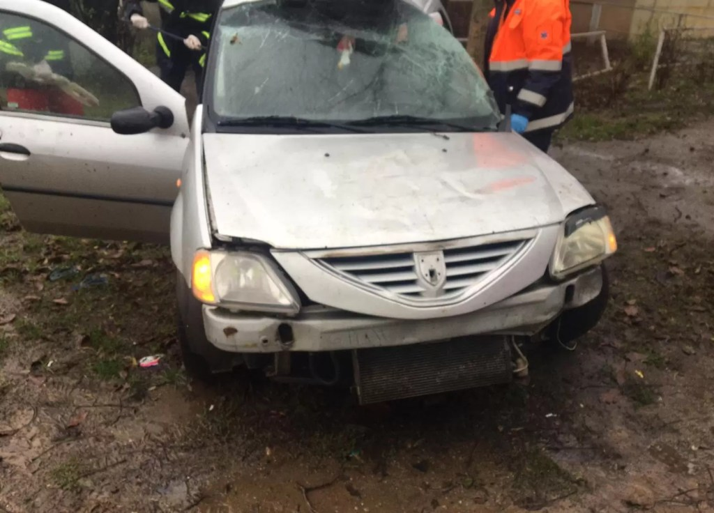 Accident in Caracal