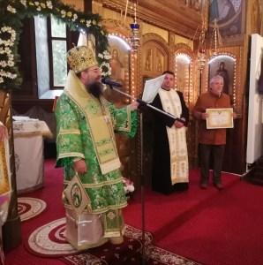 Marian Doldurea, premiat de Preasfințitul Sebastian