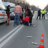 Accident GRAV: traficul este oprit pe ambele sensuri
