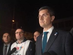 """Dan Barna la Slatina:' """"România are o mare şansă, de a avea un tur doi fără PSD'"""