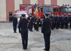 Pompierii olteni, moment de reculegere pentru Plutonierul adjutant Viorel Dîmboi
