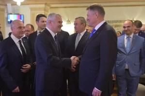 Klaus Iohannis a preluat al doilea mandat, alături i-a fost și un demnitar oltean