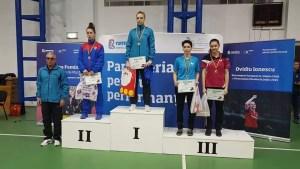 4 medalii obținute de sportivele slătinence la Campionatul Național de Tineret