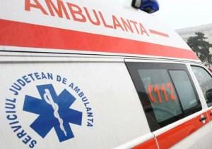 Sărbători încheiate în...ambulanță