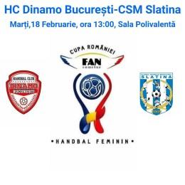 Handbal: CSM Slatina a mai bifat o victorie