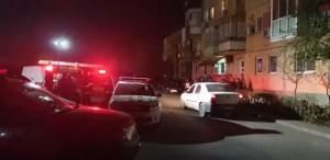 Explozie puternică într-o garsonieră din Slatina-VIDEO