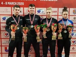 Adina Diaconu şi Cristian Pletea au cucerit aurul la Campionatul European U21