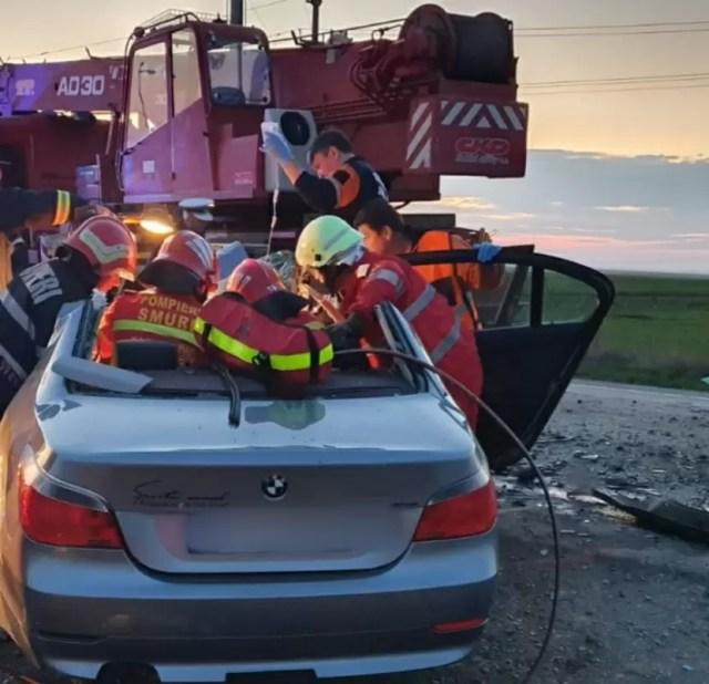 IMG-20200313-WA0022 Accident rutier cu o victimă încarcerată