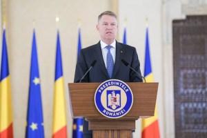 Preşedintele Klaus Iohannis se consultă cu partidele şi formaţiunile parlamentare în vederea desemnării candidatului pentru funcţia de prim-ministru