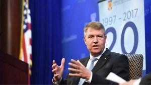 Klaus Iohannis: 'A fost evitată o criză sanitară de proporții. Criza a scos la iveală o economie slăbită'