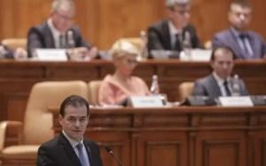 Guvernul Orban a primit votul de învestitură