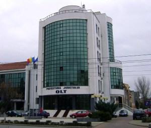 Anunț - Prefectura Olt