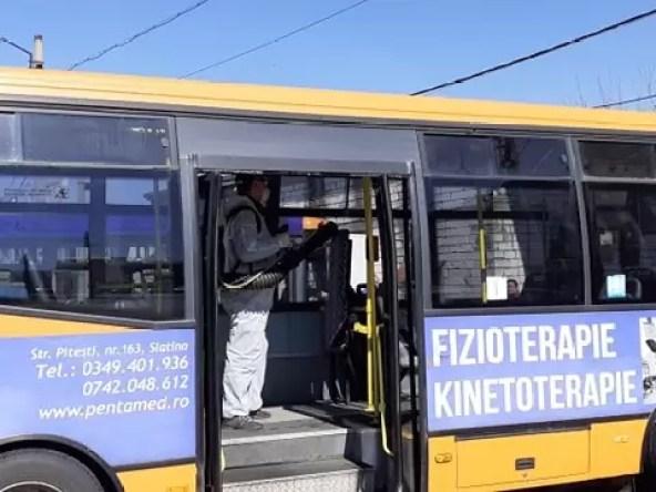 loctrans Autobuzele Loctrans sunt dezinfectate zilnic