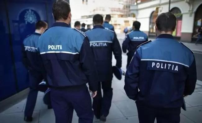 politia protest
