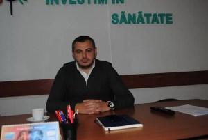 Cătălin Rotea, de trei ani în fruntea Spitalului Județean de Urgență Slatina