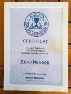 Olteanul Gogu Neagoe a atins un nou record