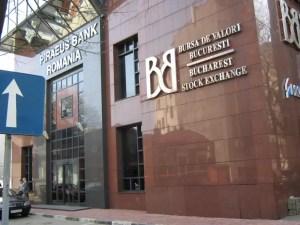 Bursa de Valori Bucureşti a deschis pe roșu ședința de miercuri