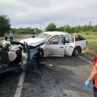 Accident groaznic - 2 persoane au murit și 1 în stare gravă