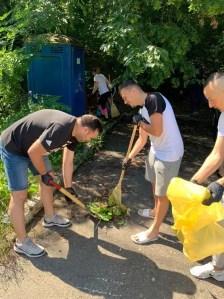 TSD Slatina, acțiune de ecologizare a pădurii Strehareț