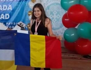 Slătineanca Diana Ţolu a cucerit medalia de bronz la o competiţie mondială de matematică