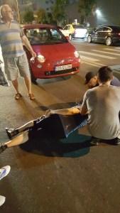Slatina: Accident grav produs de o tânără șoferiță pe trecerea de pietoni