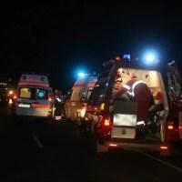 Șofer beat a provocat un accident rutier