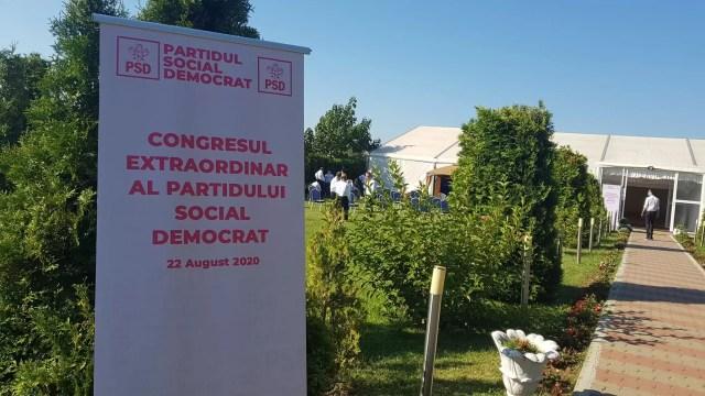 congres-psd Congres atipic al PSD, Ciolacu ales online!