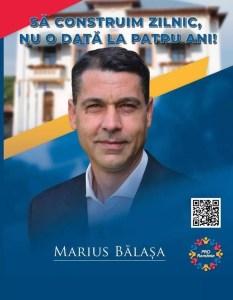 Marius Bălașa propune slătinenilor o soluție pentru vârstnicii singuri