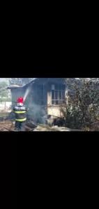 Incendiu devastator în Vâlcele