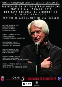 SPECATCOLUL TREBUIE SĂ CONTINUE. Festivalul de teatru de la Caracal dedicat un actor din Corabia