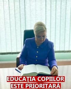 Siminica Mirea:''Educația este o prioritate''