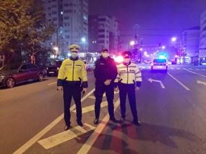 Polițiștii olteni au demarat controale pe timpul nopții