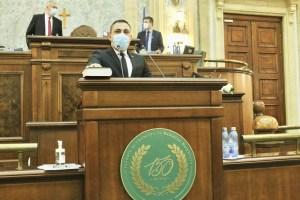 Senatorul Liviu Voiculescu a depus jurământul