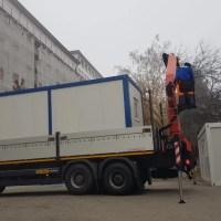 Încă două containere pentru triaj au ajuns la spitalele din județ