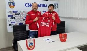 CSM Slatina are antrenor nou