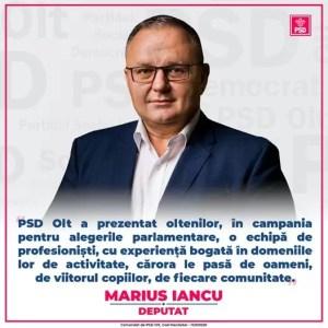 Marius Iancu:''Niciodată, în istoria ultimilor 30 ani, românilor nu le-a fost teamă să meargă la vot''